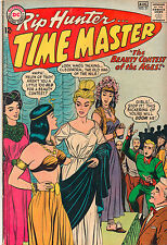 Rip Hunter Time Master #21 - Beauty Contest Of The Ages! - (Grade 7.0) 1964