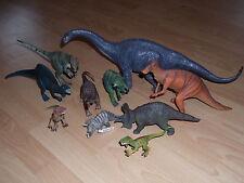 Schleich Dinosaurier 10 Stück Große und kleine
