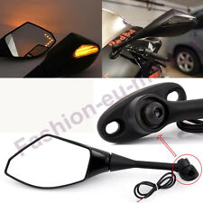 BLACK MOTORCYCLE REARVIEW SIDE MIRRORS FOR 2003-2016 HONDA CBR600RR CBR500R BIKE