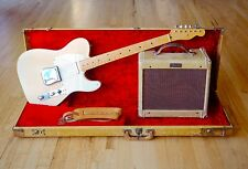 1956 Fender Telecaster Vintage Guitar Blonde One Owner 100% Stock w/ Tweed Champ
