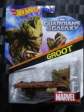 HOTWHEELS 1:64 Diecast Character Car - MARVEL #14 - GROOT