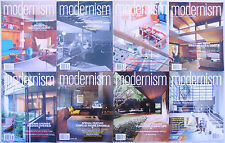 Mid Century-1950's Modern - Modernism Magazines - 8 Issues Included for One Bid