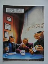 1997 Print Ad Camel Cigarettes ~ Joe Camel At the Diner with Friends ART