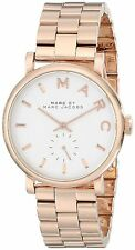 Marc by Marc Jacobs Women's Original MBM3244 Baker Rose Gold-Tone 36mm Watch