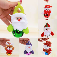 Christmas Ornament Tree Hanging Festival Party Xmas Metal Tone Jingle Bell Decor