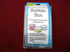 "BOBBIN BOX FOR ""M"" STYLE LARGE BOBBINS INDUSTRIAL SEWING MACHINE HOLDS 21"