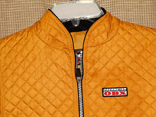 OBERMEYER girls 7 gold quilted full zip front jacket excellent insulated I Grow