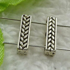 Free Ship 280 pieces tibet silver nice spacer 15x4mm #1393