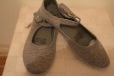 Womens Footwear - Casual Grey Side Buckle Shoes - SIZE 8 - BRAND NEW