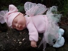 Anne Geddes sleeping baby fairy doll