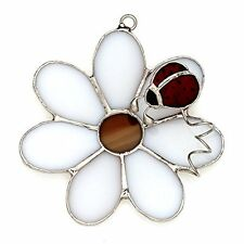 SWITCHABLES Stained Glass Night Light Cover, DAISY WITH LADYBUG, New In Box