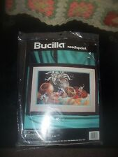 Bucilla  Needlepoint Kit 4685  Indian Pots And Peppers By Nancy Rossi 1994