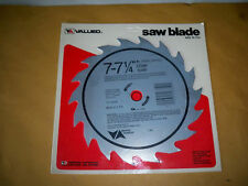 """7""""-7-1/4""""  VERMONT AMERICAN  18 STEEL TEETH  CHISEL TOOTH SAW BLADE 5/8"""" USA"""