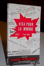 VISA POUR LA MORGUE Frank Kane Collection Policière internationale N°1