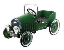 Automobile a pedali verde 110 cm ruote gommate 1929 (Replica)