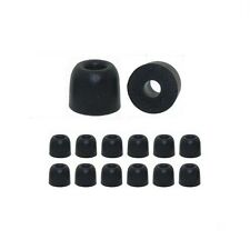 C Size Medium - 6 pair Memory Foam replacement earbud tips by Earphones Plus tm