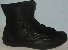 MEN'S CONVERSE ALL STAR CHUCK TAYLOR COMBAT BOOT 144716C LEATHER BLACK SIZE