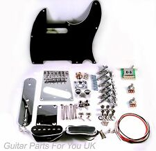 Telecaster Full Guitar hardware kit chrome 6 saddle vintage single coil bridge