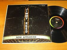 """MONO BLUES LP - JIMMY REED - VEE-JAY 1025 - """"NOW APPEARING"""""""