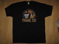 Dynamic Duo Tee - Batman Robin Super Hero DC Comics West Ward T Shirt XXLarge