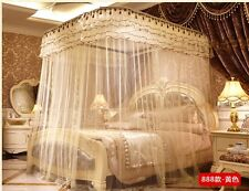 BED CANOPY SET   Retractable Canopy Frame   for Full & Queen
