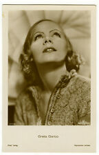 c 1930 Vintage Movie Film Star GRETA GARBO German photo postcard
