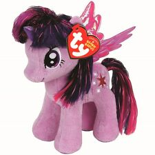 "Official My Little Pony Twilight Sparkle Soft Plush Toy - Medium Buddy 11"" Wings"