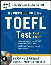 Official Guide to the TOEFL Test With CD-ROM, 4th Edition (McGraw-Hill's Officia