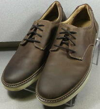 251642 PF38 Men's Shoes Size 9 M Brown Leather Lace Up Johnston & Murphy