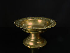 A Small 19th Century Islamic Malay Cast Brass Betel Stand.