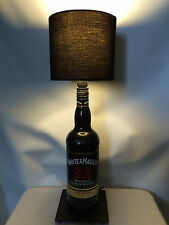 Whyte & Mackay Black Bottle Lamp Scotch Whisky Man Cave Pub Bar Light Bedside