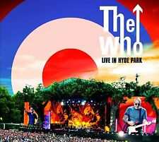 THE WHO New Sealed 2016 50th ANNIVERSARY LIVE CONCERT DVD & 2 CD BOXSET