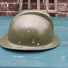 Vintage Romanian Volunteer Fire Helmet