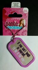 """CAN'T LAUGH AT YOURSELF I'LL DO IT FOR YOU SMARTY PANTS DOG TAG 18"""" NECKLACE NEW"""