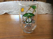 1974 ZIGGY 7UP COLLECTOR SERIES GLASS