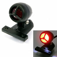 Black Torpedo LED Ally Stop Tail Light for Harley Davidson Dyna Custom Project