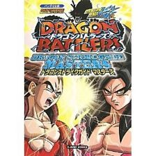 DATA CARDDASS Dragon Ball Kai Dragon Battlers Dragon Strike Guide Masters book