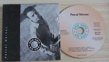 CD SINGLE 4 TITRES PASCAL MONARC UNE VOIX UN SON SAUVEZ LES AMES