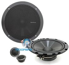 "ROCKFORD FOSGATE R1675-S 6.75"" CAR AUDIO COMPONENT MIDS TWEETERS SPEAKERS GRILLS"