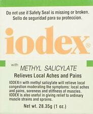 3 Pack - Iodex With Methyl Salicylate, Relives Local Aches and Pain 1oz Each
