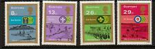 GUERNSEY SG259/62 1982 SCOUTS   MNH
