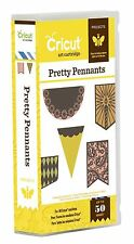 CRICUT *PRETTY PENNANTS* ART PROJECT CARTRIDGE *PARTY & HOLIDAY BANNERS* NEW