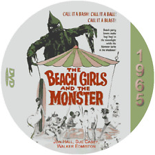 "Beach Girls And The Monster (1965) Classic Sci-Fi and Horror CULT ""B-Movie"" DVD"