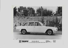"TRIUMPH 2.5 P.I. MKII PRESS PHOTO da ottobre 1969 per 1970 ""BROCHURE connesso"""