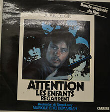 "OST -ALAIN DELON - ATTENTION LES ENFANTS REGARDENT - ERIC DEMARSAN 12"" LP (S987)"