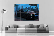 Ford Mustang Shelby GT 500 Wall Art Poster Grand format A0 Large Print