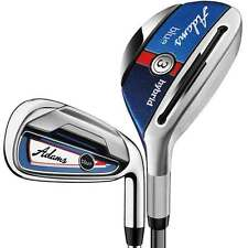 New Adams Golf Blue Combo Iron Set 3H, 4H, 5-PW Senior Flex Graphite Shafts