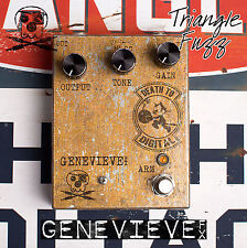 Genevieve FX Special Corroded Copper Triangle Era Big Muff Recreation - One Off