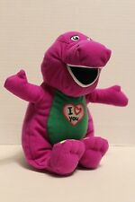 "ORIGINAL 2011 SINGING BARNEY ""I LOVE YOU""PLUSH TOY S SONGTUFFED ANIMAL 10"""