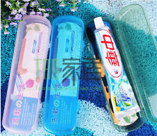 Tooth Brush Cover Toothbrush Case Box Portable For Travelling Camping G827